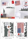 Life Creative Stickers Big Apple XL LIF 5980 30 15 LIF59803015 By Caselio